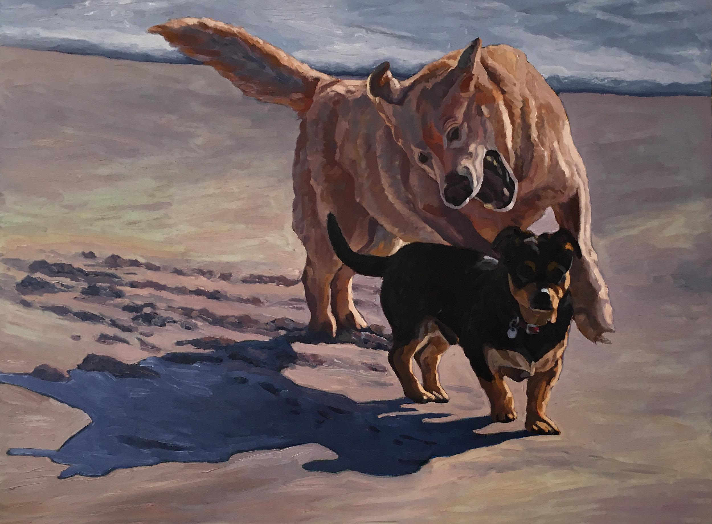 Lost Innocence  36 x 48  Oil on Canvas  2006
