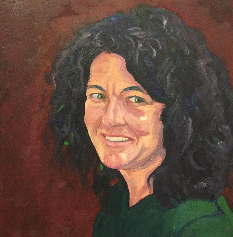 Roberta  16 x 16  Oil on Canvas