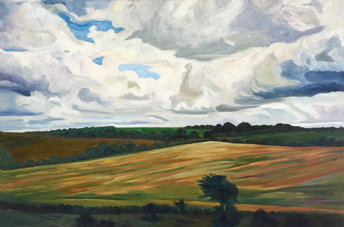 Tree  24x36  Oil on Canvas  1993