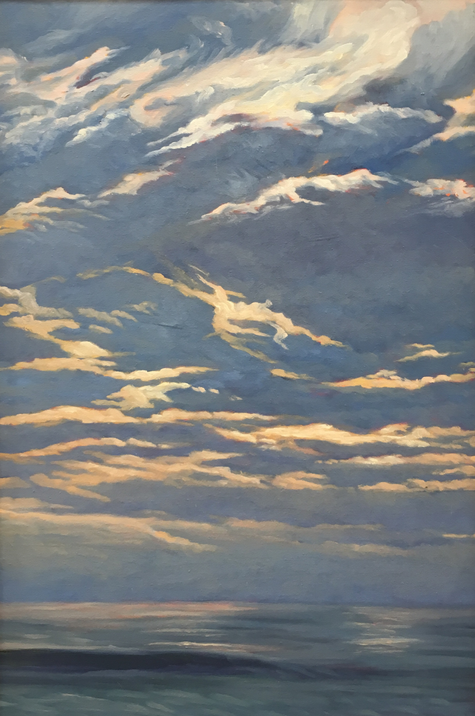 Pacific Overture IV  28x20  Oil on Panel  2002