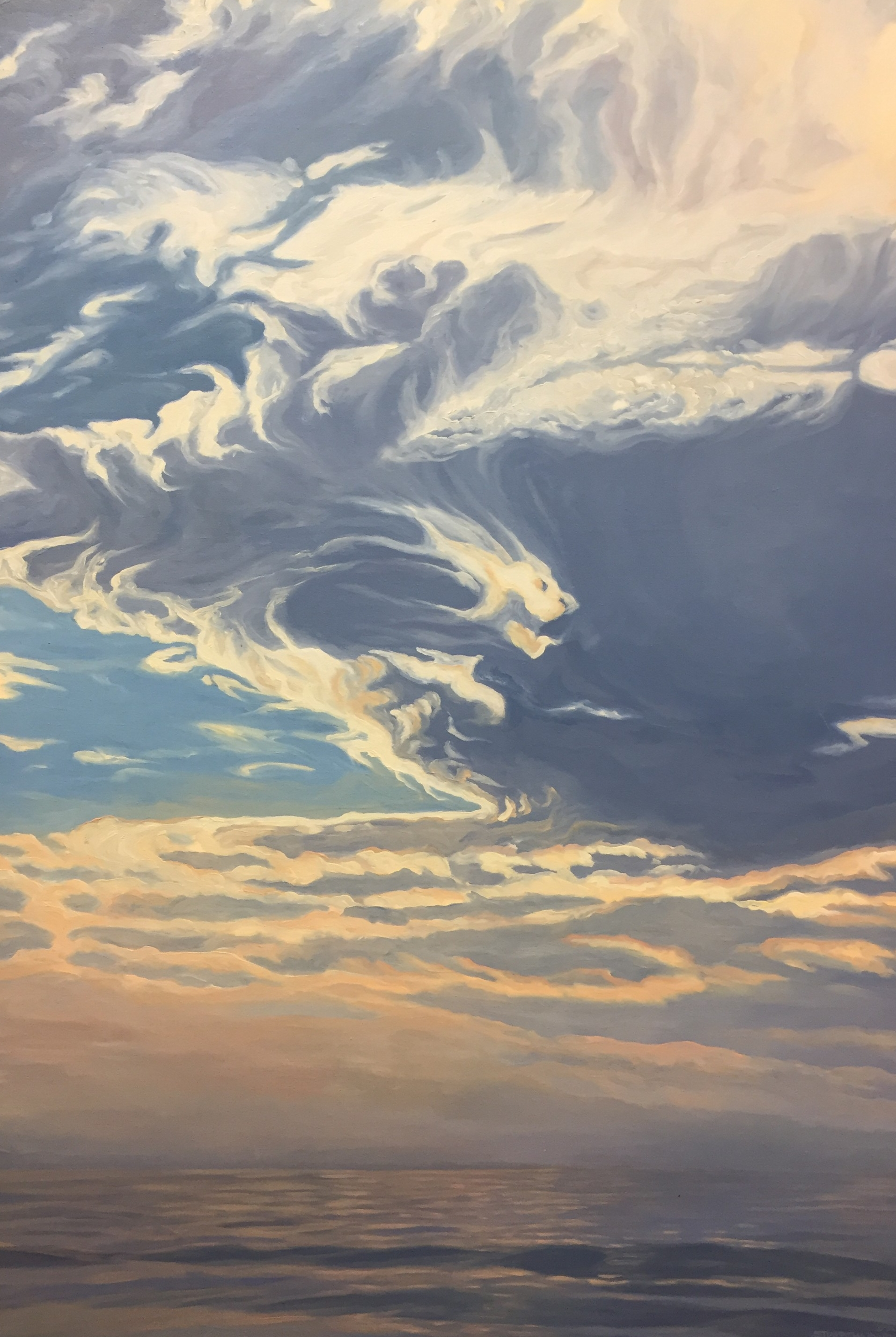 Pacific Overture IV  48x32  Oil on Panel  2002