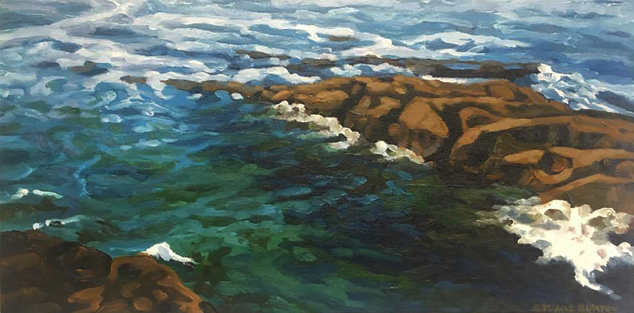 Shallows         12x24          Oil on Canvas           2007