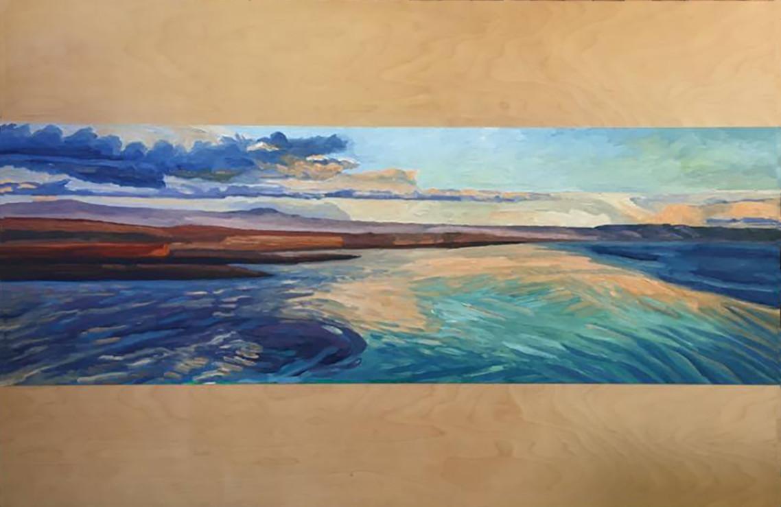 San Quintin  24x72  Oil on Canvas  2000