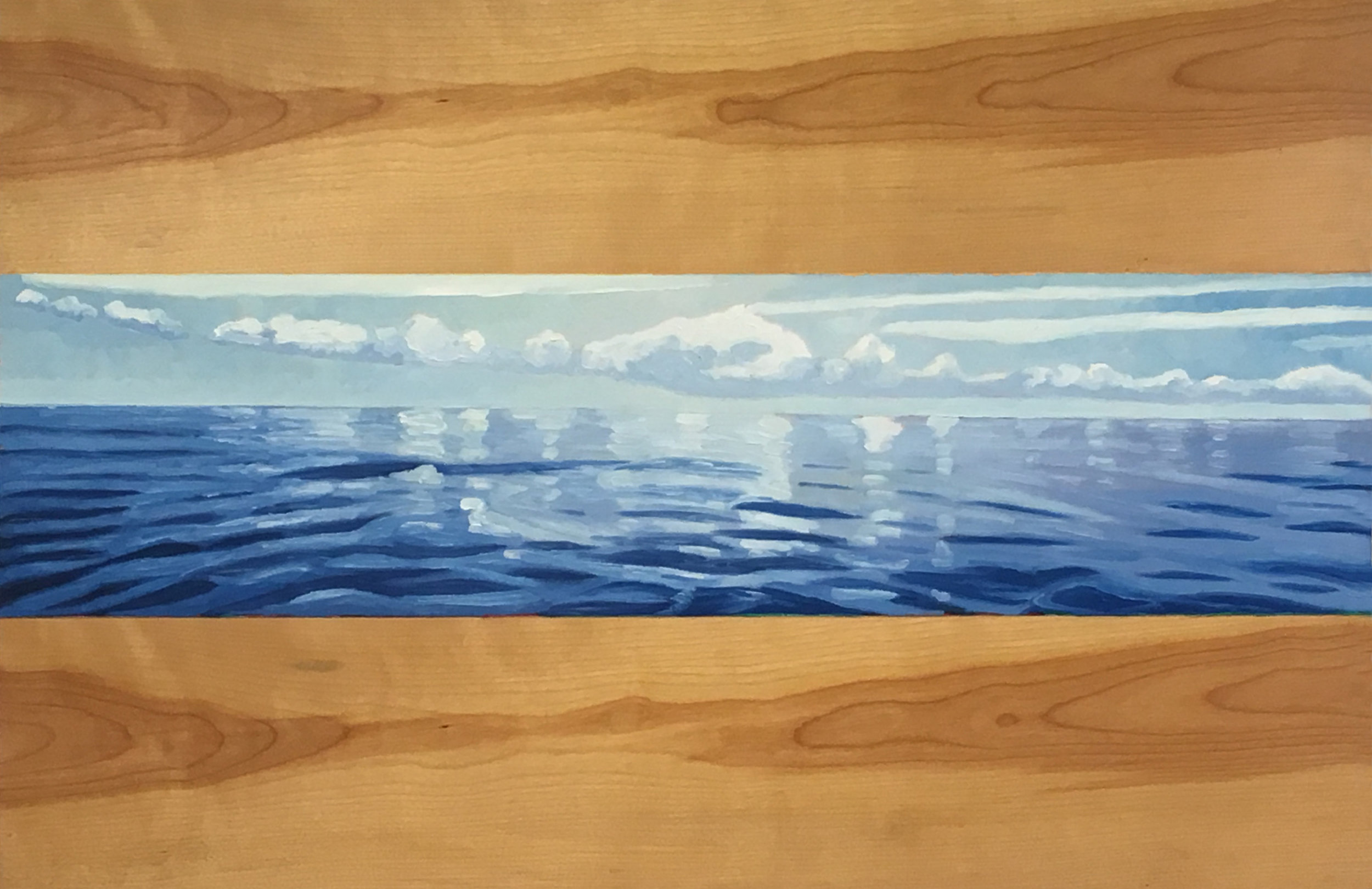 Reflections  9x36  Oil on Canvas  2000