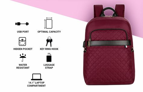 Modernistlook LUXE – Smart Backpack -