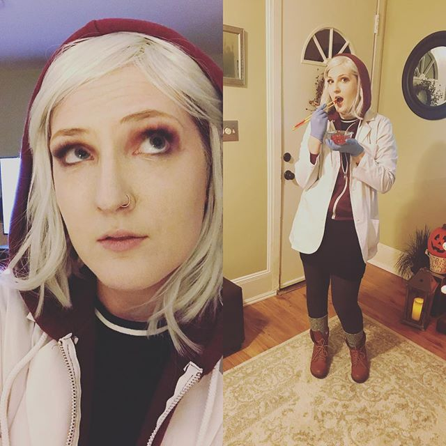 I'm already dead 💀 #izombie #cosplay #halloweenmakeup #halloweencostume #livmoorecosplay