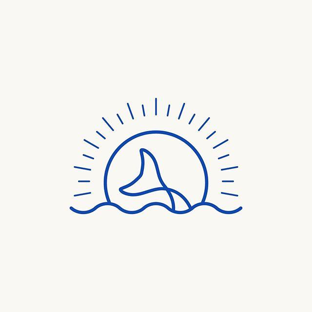 🧜♀️🌞 Discarded logo concept with beachy vibes ⠀⠀ .⠀⠀ .⠀⠀ #branding #illustration #design #identitydesign #pdxdesigners #pdxillustrators #identitydesign #logo #logoinspiration #eyeondesign #designingwomen #womenofdesign⠀#beach #ocean #pacificnorthwest #pnw⠀⠀