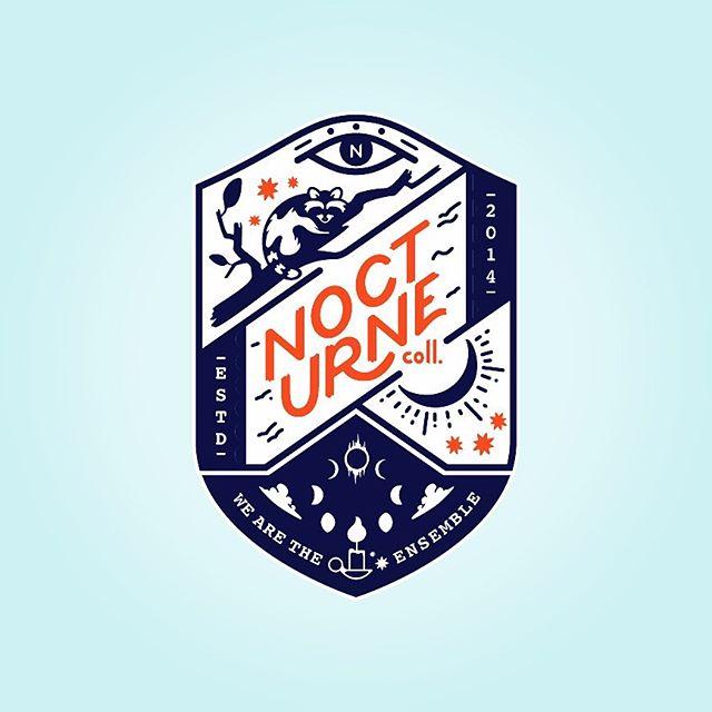 🧙♀️ A witchy variation on our Nocturne branding by @morebeesmorehoney⠀ ⠀ ⠀ ⠀ ⠀ ⠀ ⠀ ⠀ ⠀ ⠀ ⠀ ⠀ ⠀ #branding #brandingdesign #illustration #design #identitydesign #pdxdesigners #pdxillustrators #identitydesign #logo #logoinspiration #eyeondesign #designingwomen #lettering #graphicdesign