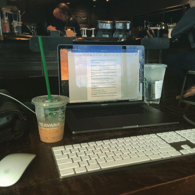 Starbucks Work Day