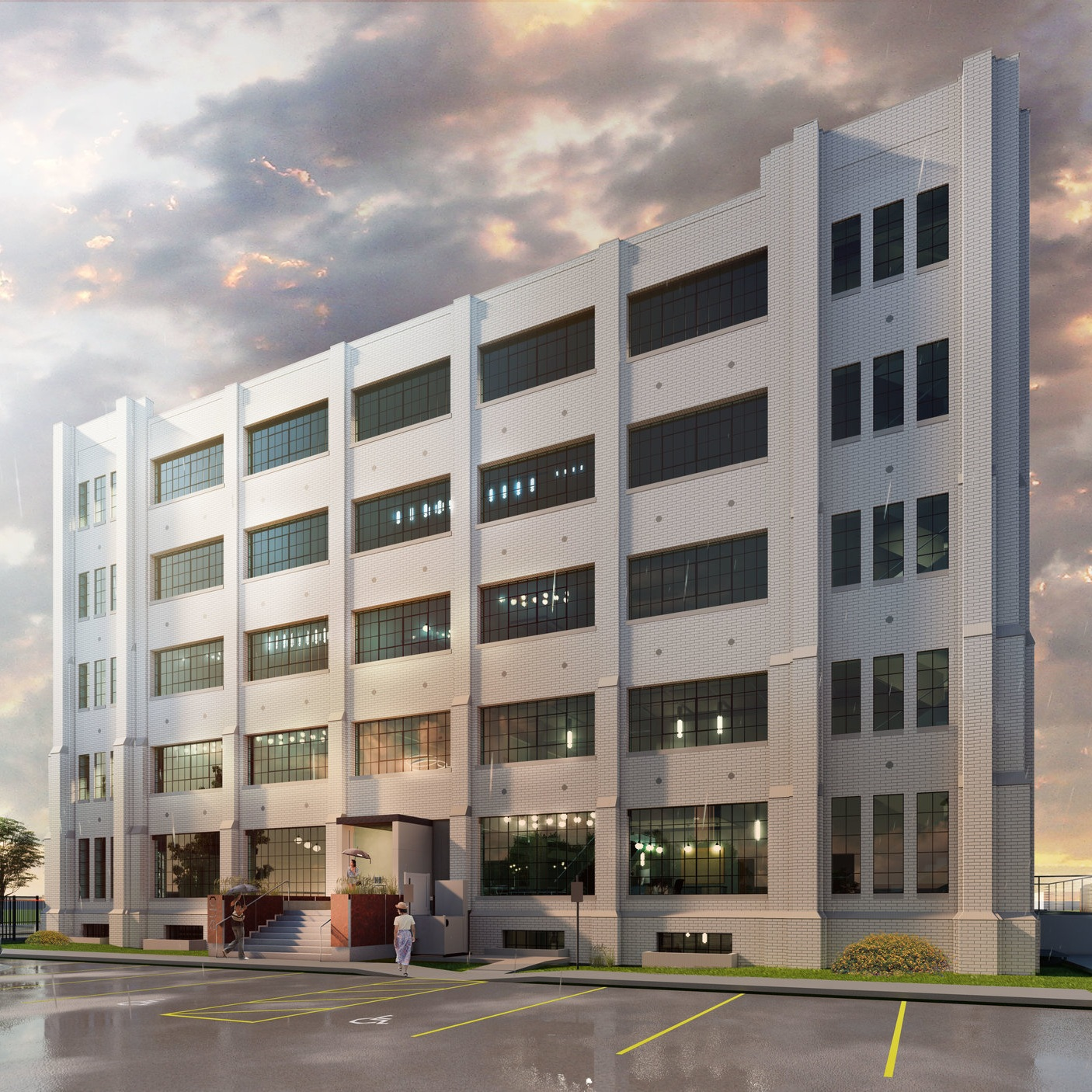 Cains Coffee Building Rehabilitation    OKC - Oklahoma