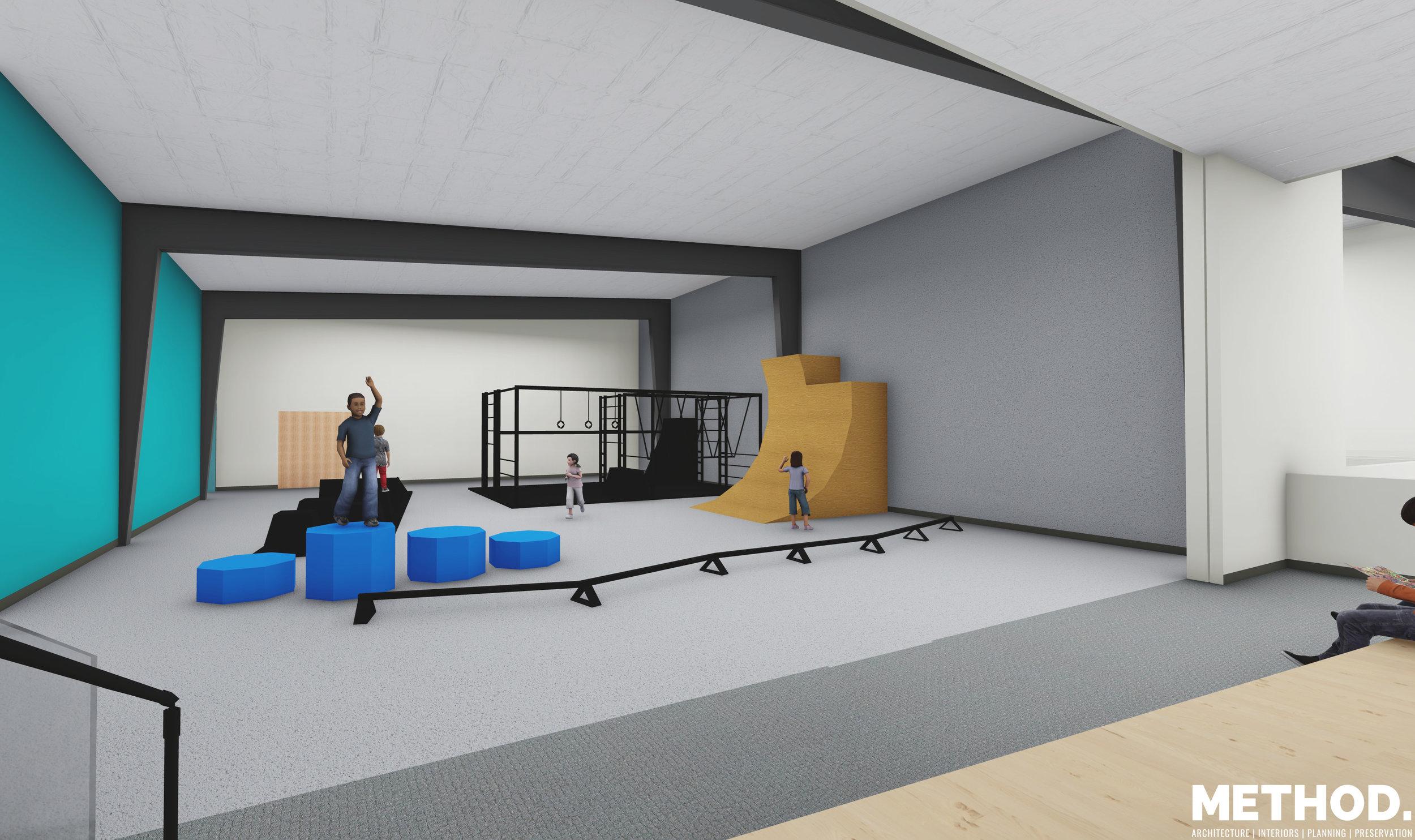 Ninja Room and Multipurpose Facility