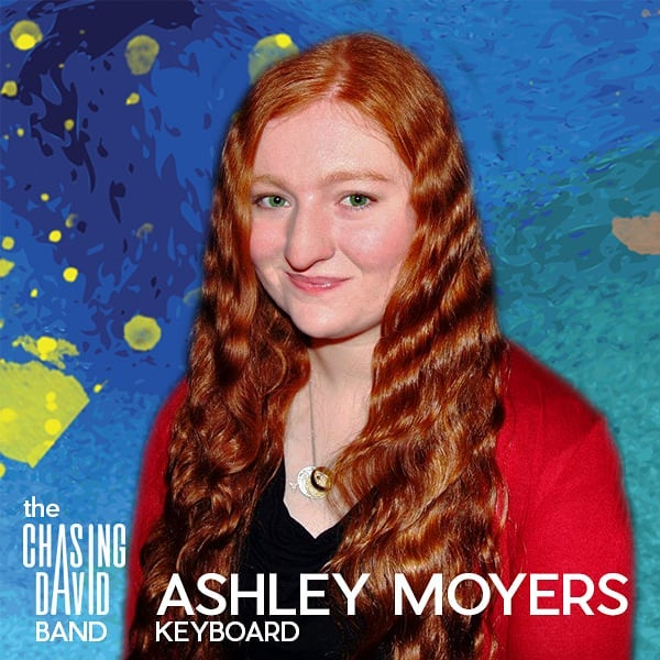 Our new touring band is coming together. Meet our keyboard player - Ashley Moyers.