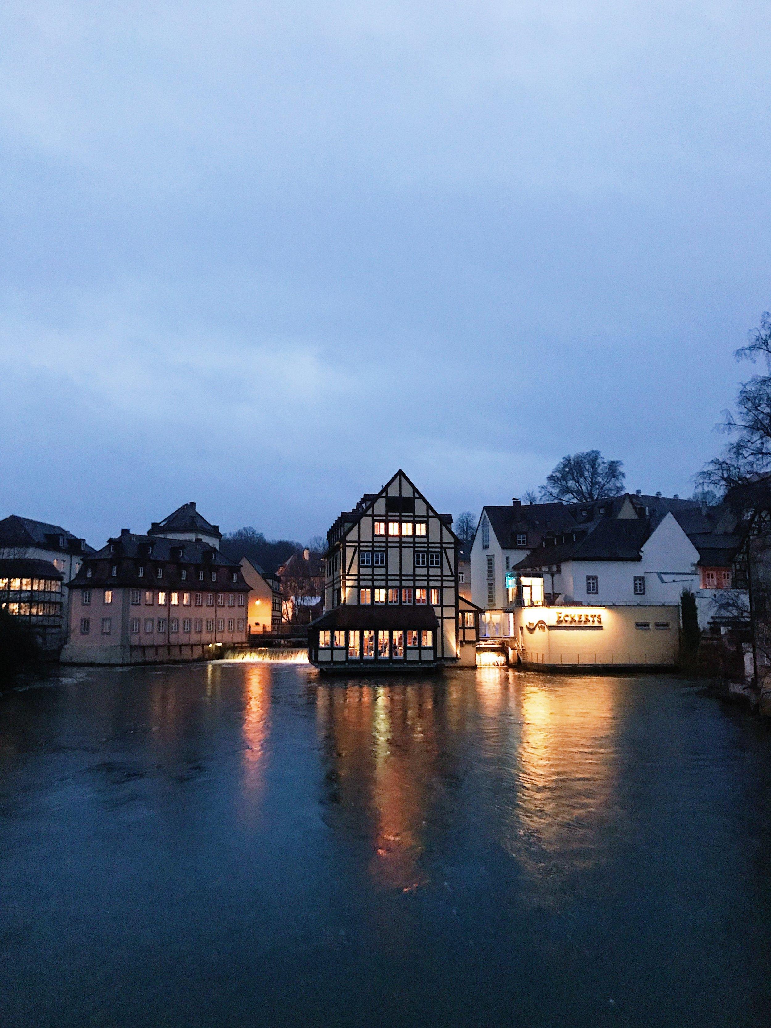 Das Eckerts restaurant in Bamberg, Germany.