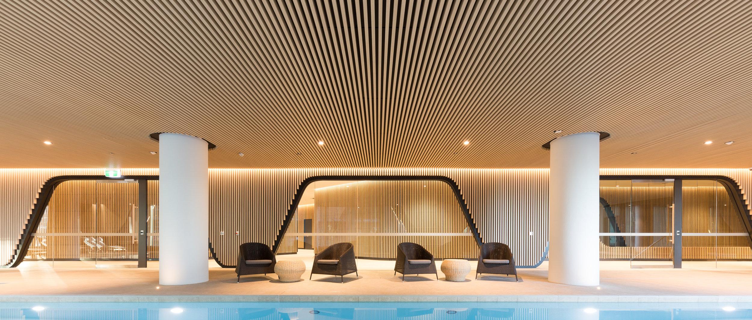 883 Collins St, Melbourne Multi residential Pool Amenitites