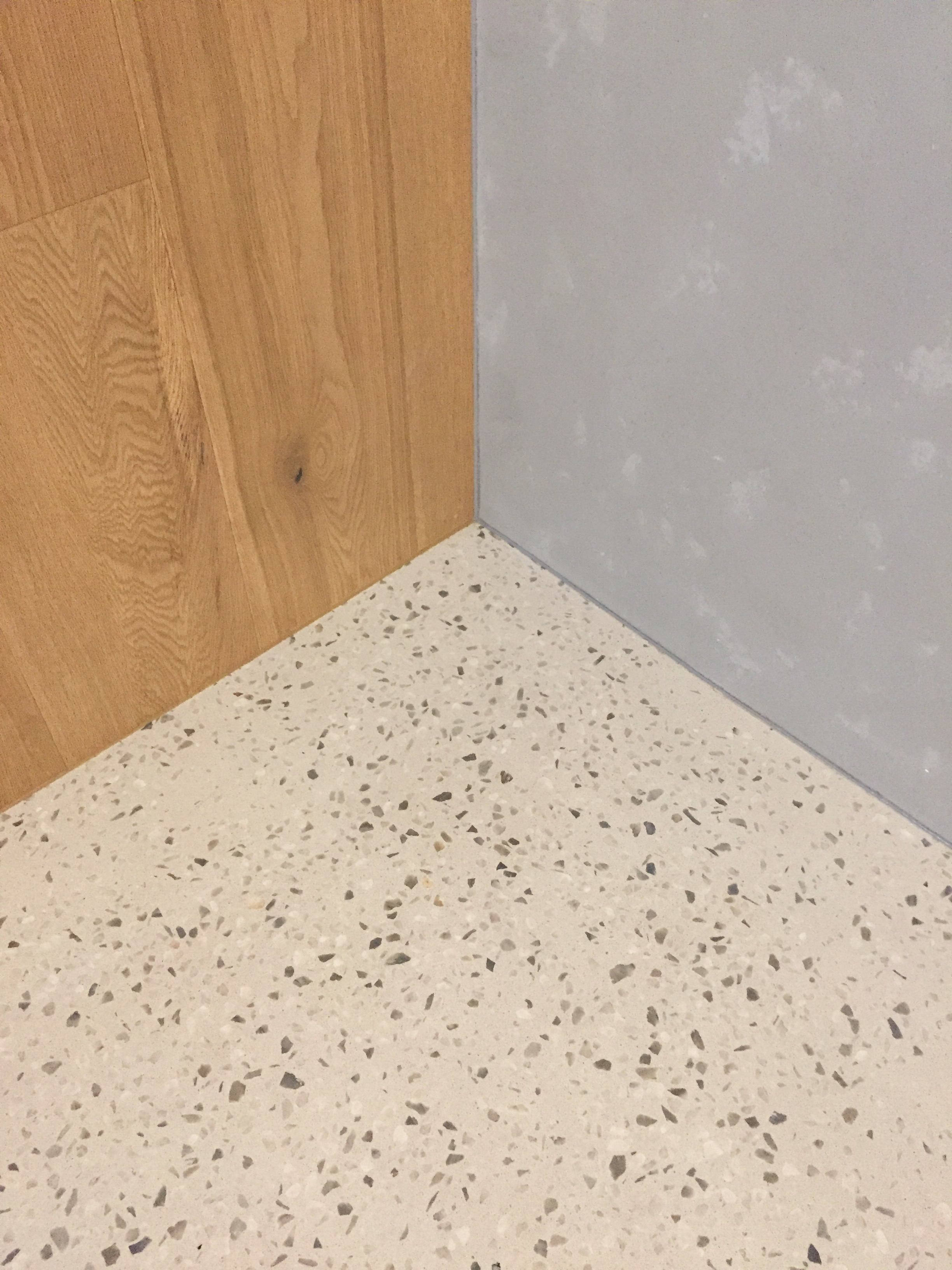 Traditional Concrete Terrazzo Look In An Incredibly Thin