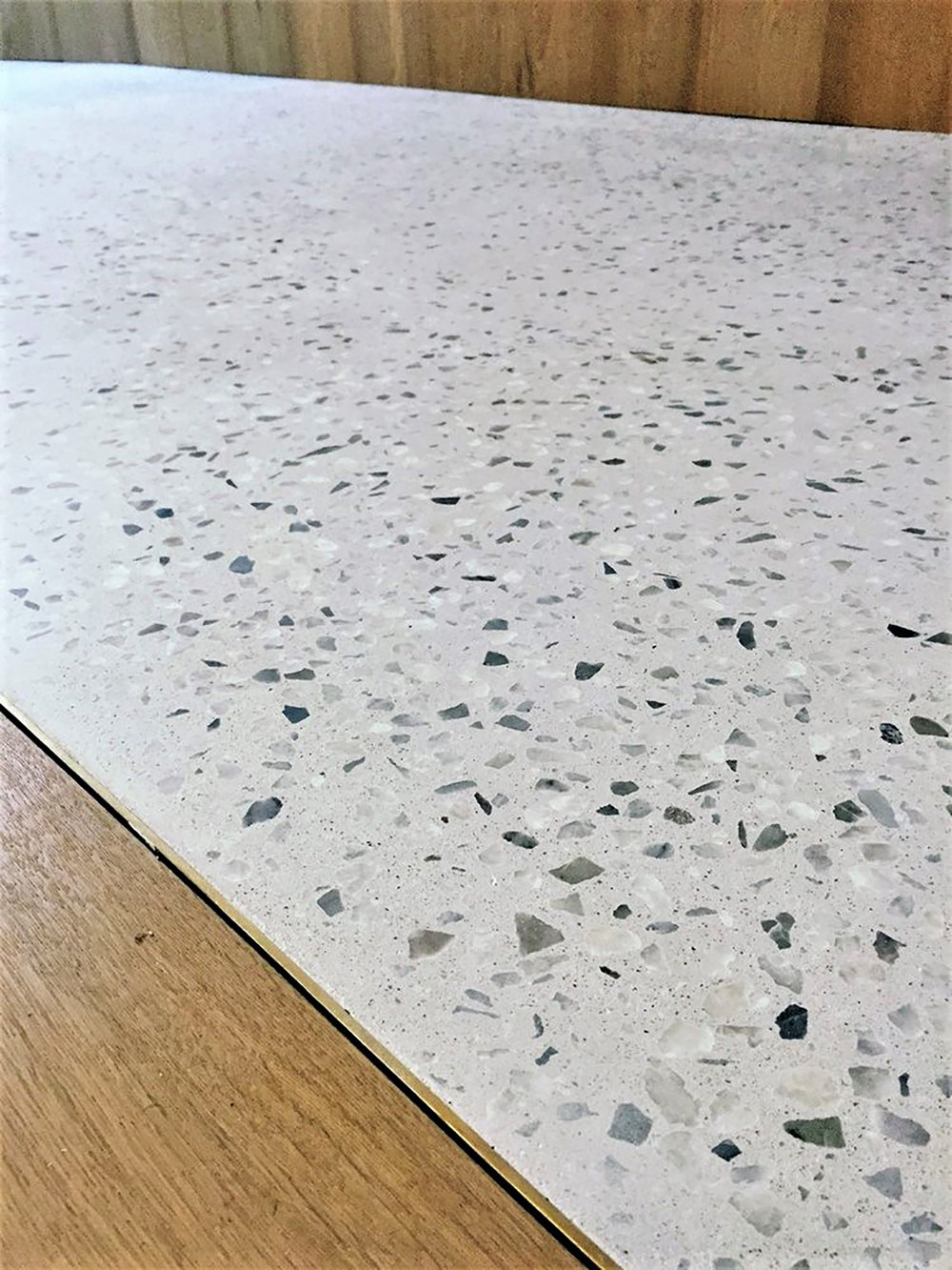 Traditional Concrete Terrazzo In An, Terrazzo Laminate Flooring