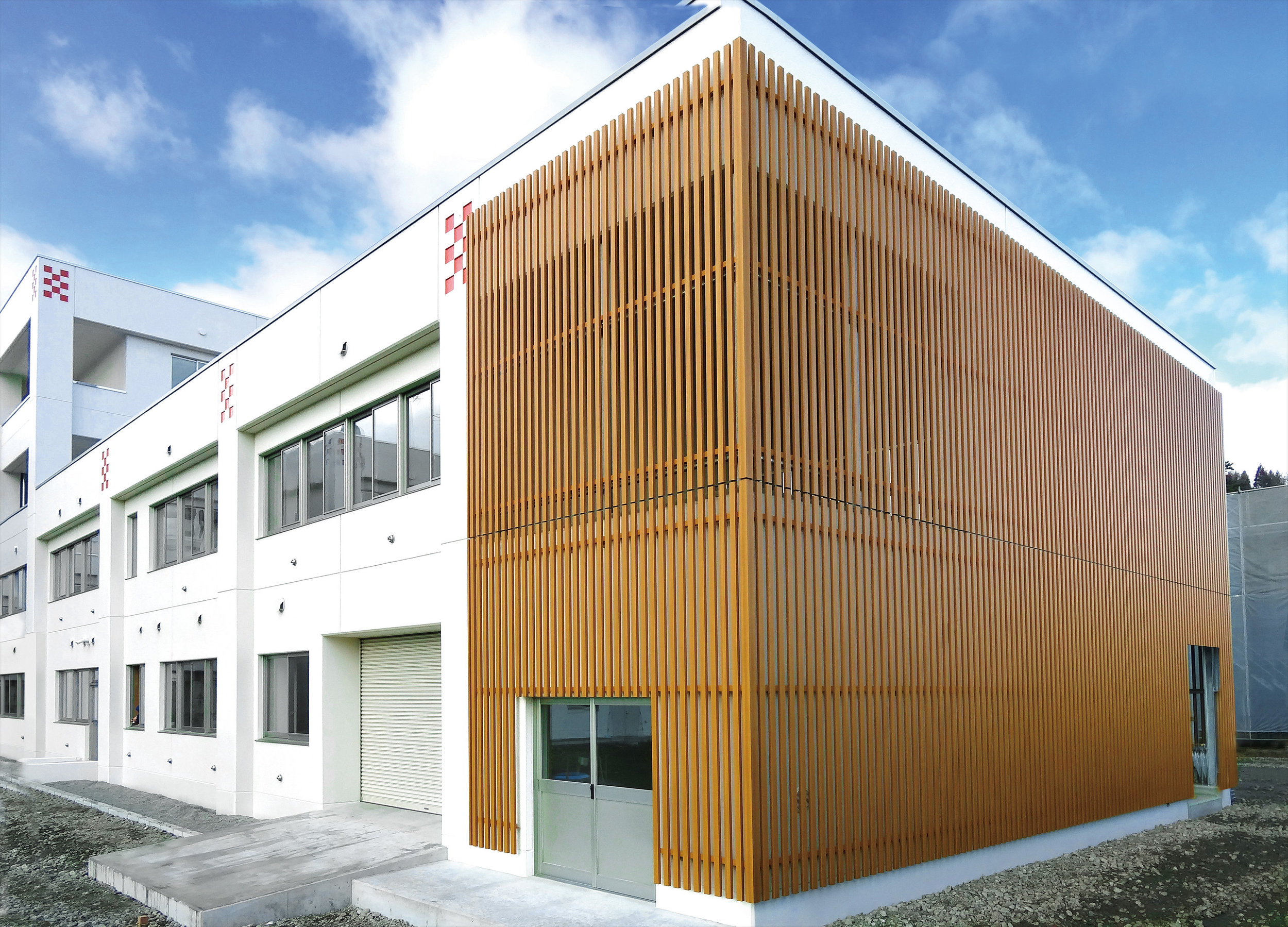 Commercial Offices - Japan Ever Art Wood® battens - Mizotsuki 30x60