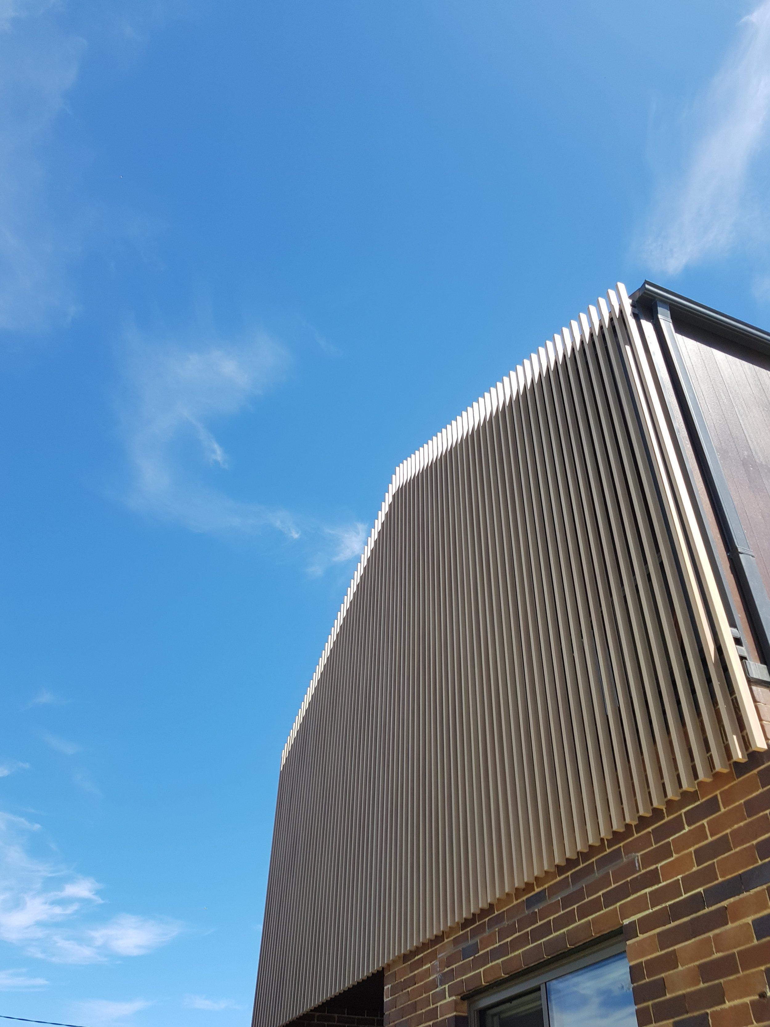 Architects' Private Residence - Sydney Ever Art Wood® battens - Kabebari 30x50 in Oku