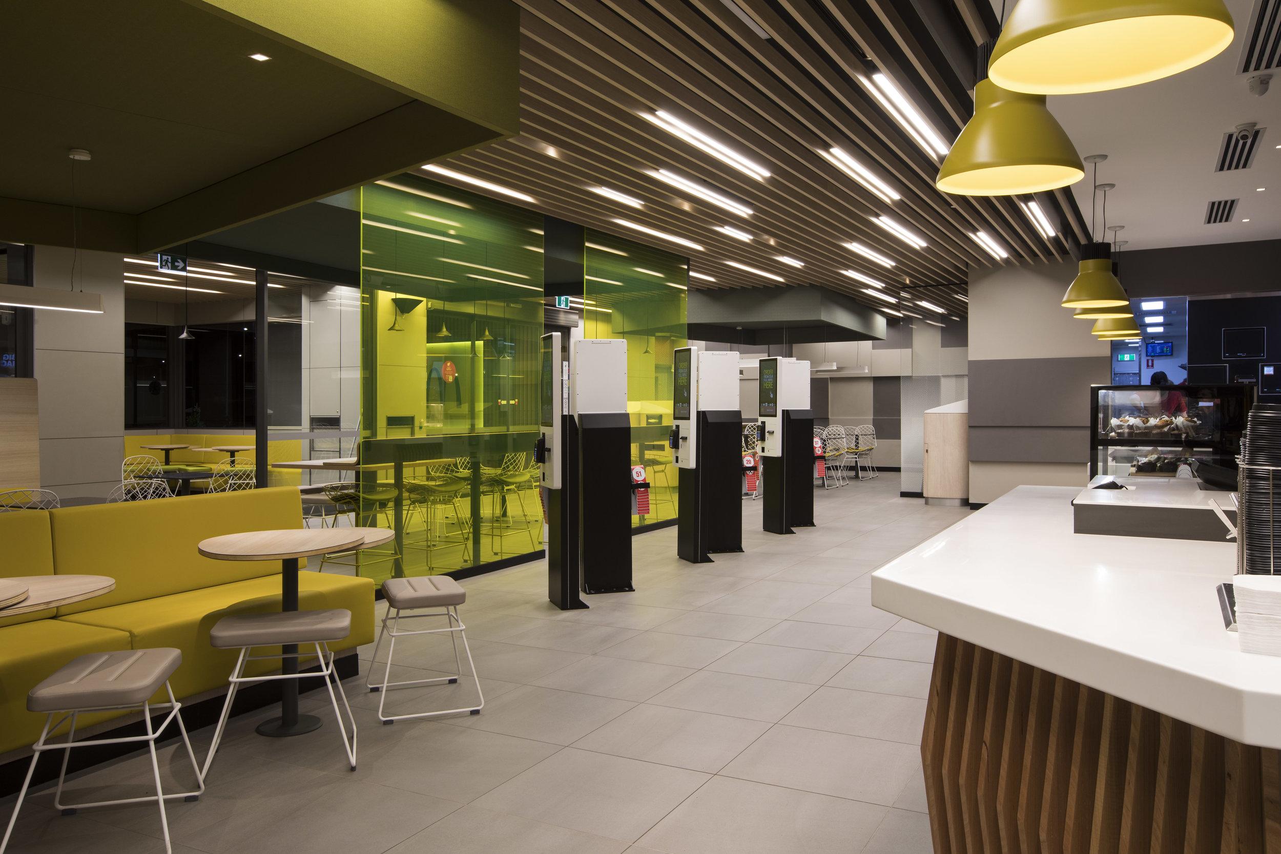 McDonalds internal & external fitout - Emerald Hill VIC