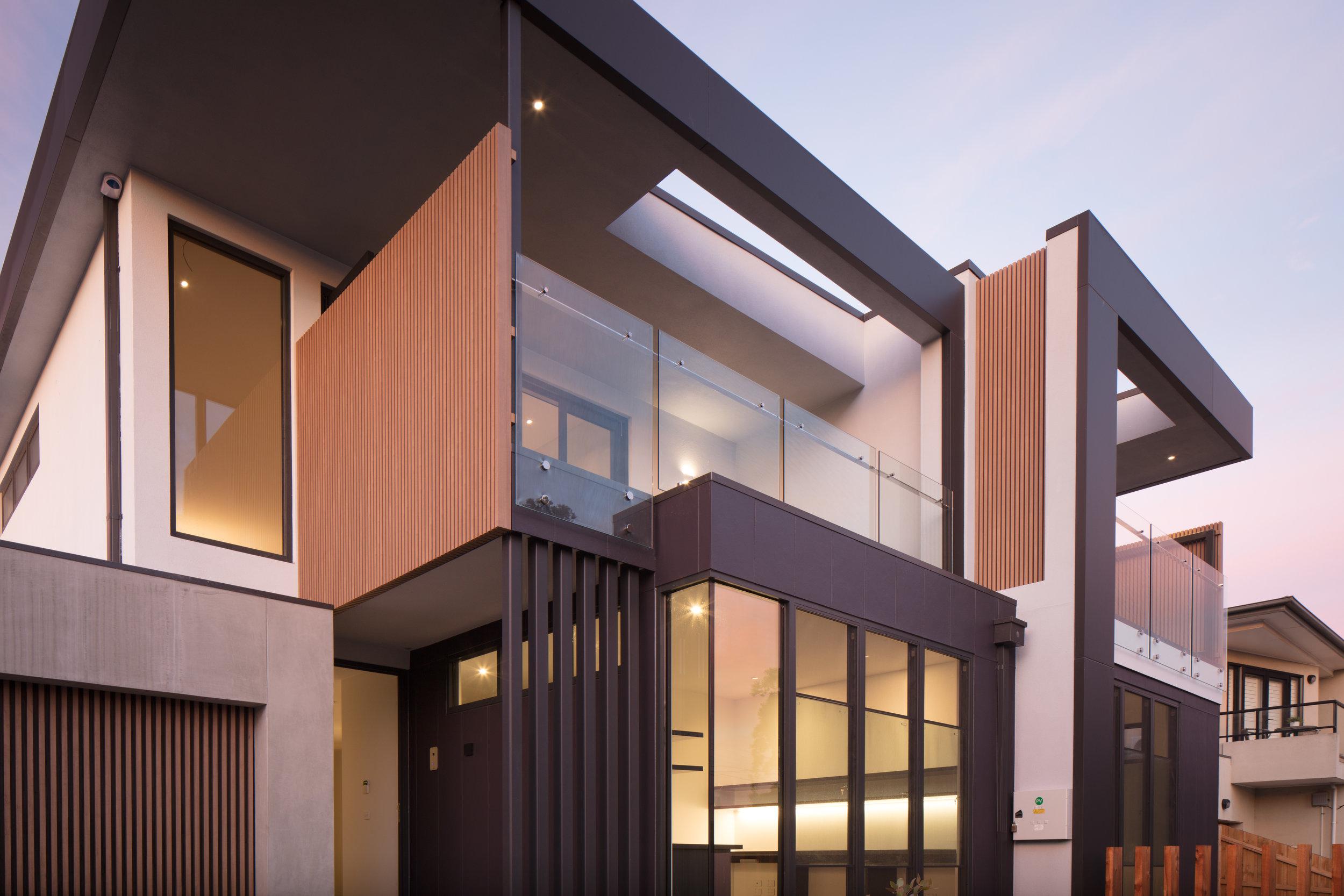 prefabricated screens and garage door battens
