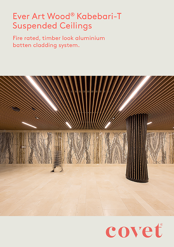 EAW Kabebari T Suspended Ceiling Detail Document