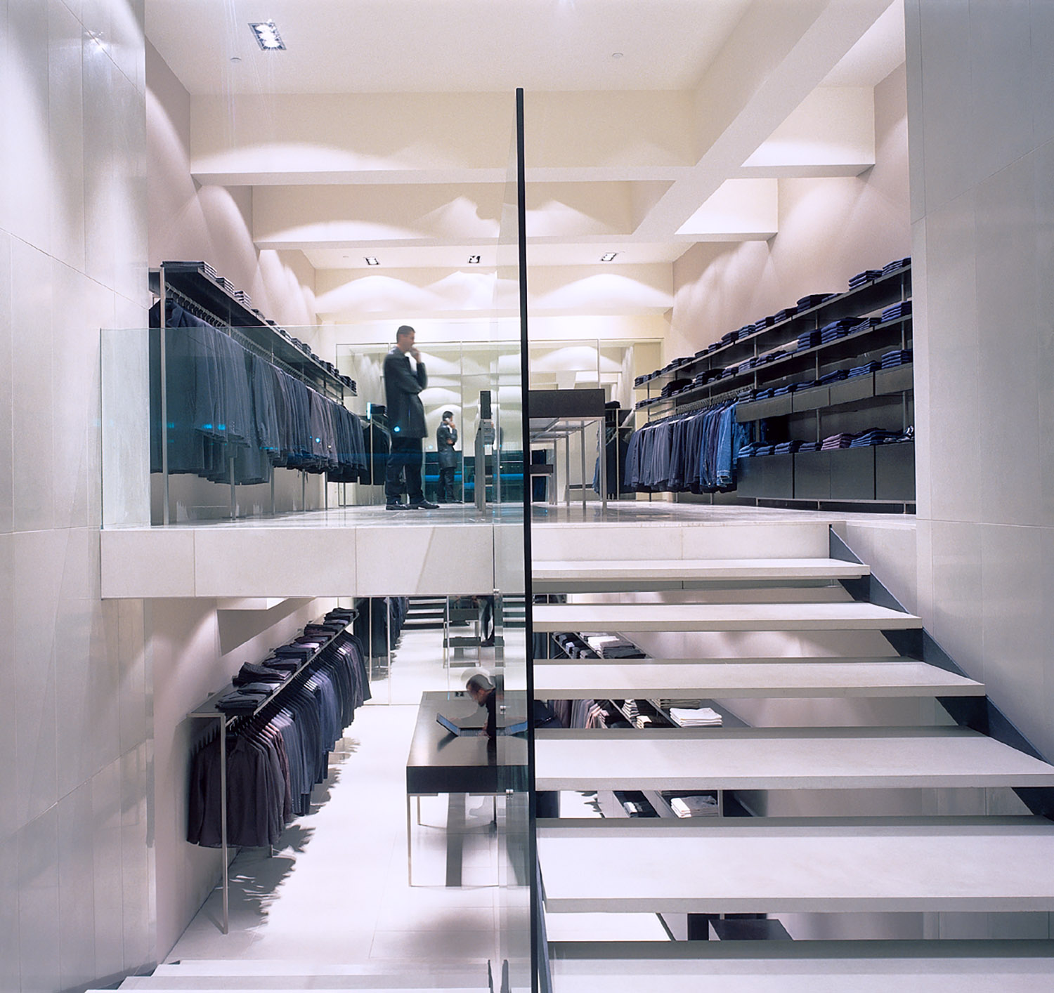 Interior tile Retail Calibre Sydney Shale Smooth 811 x 405 and 1200 x 405 pencil round stair trends and nosing w.jpg