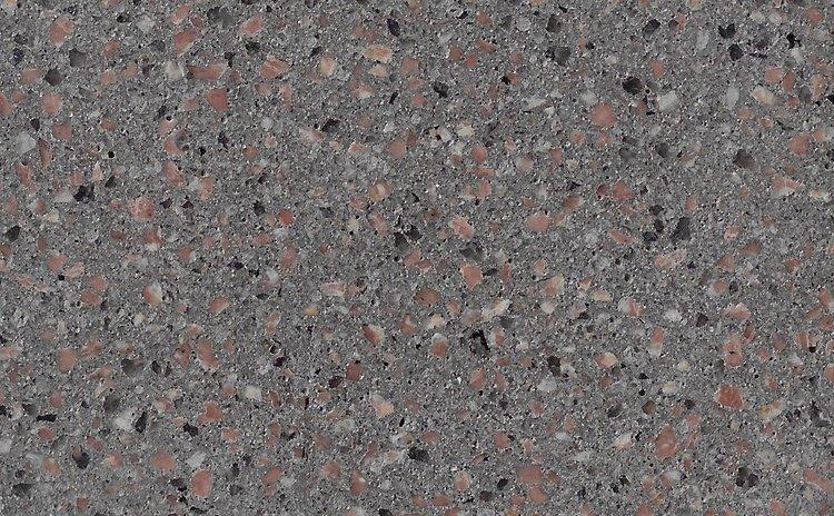 Fossil 3mm Burgundy Granite