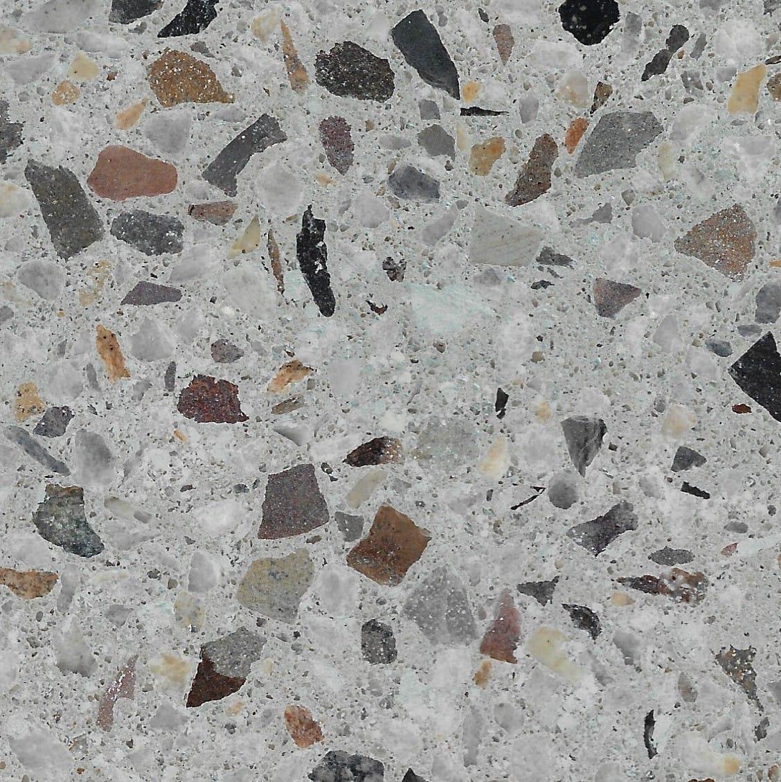 Alabaster 10mm Crushed Stonefield & 6mm Koonunga Hill Grey