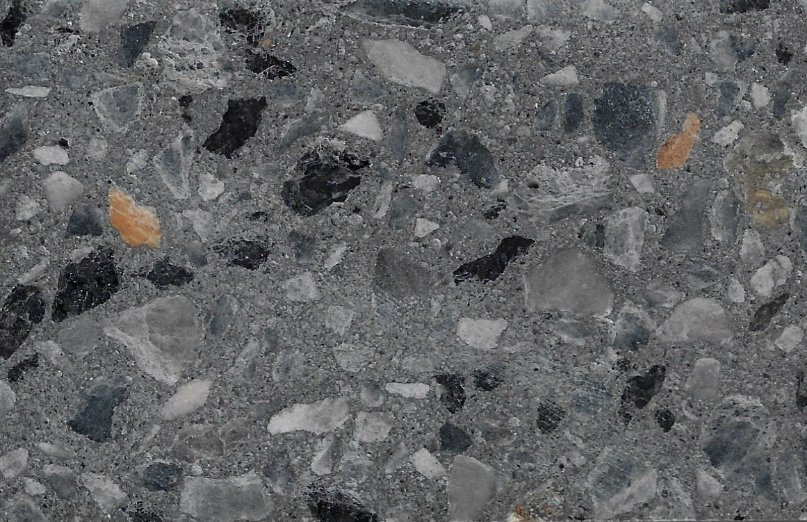 Coal 10 Black Granite & Belvidere