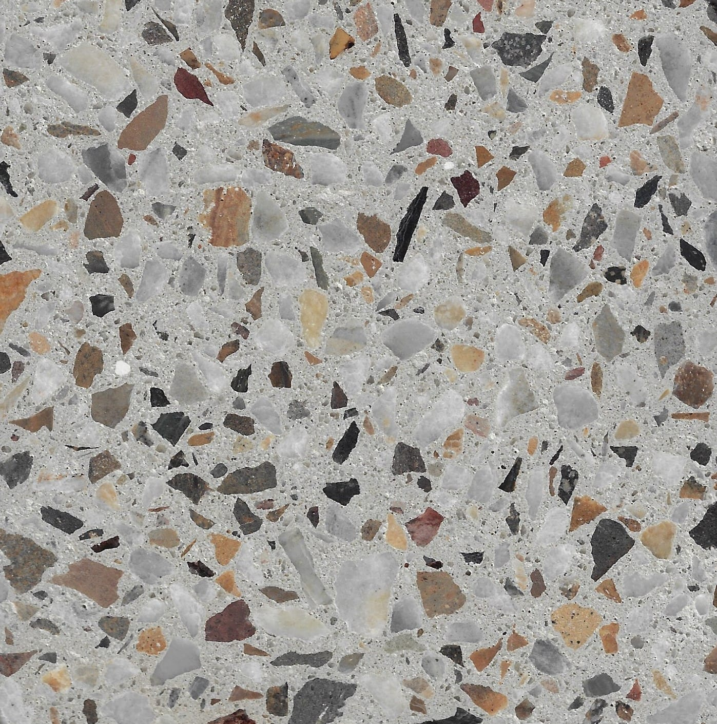 Ivory 10mm Crushed Stonefield & Koonunga Hill Grey Marble
