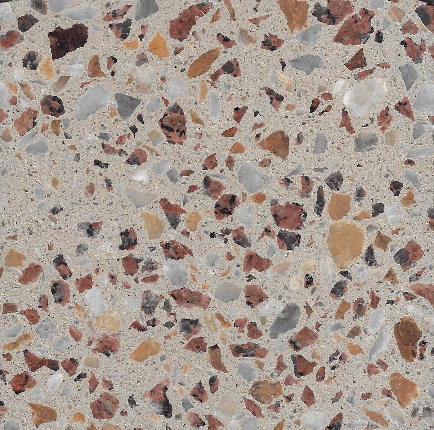 Custom Light Latte 10mm Cudgee Marble & Calca Granite