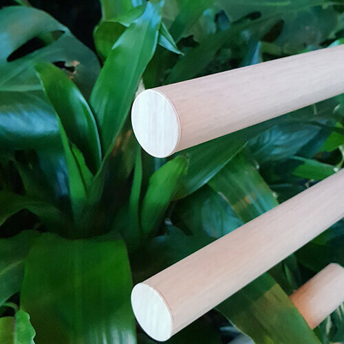 Custom vacuum-sealed batten end caps in Supuringu Oku added to the realism of the timber look battens.