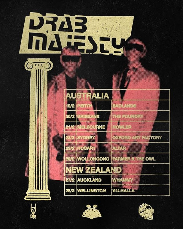 We are positively thrilled to be bringing @drabmajesty back for their second lap around Australia and New Zealand in February 2020. Tickets on sale now - carbonsunset.com for details. #drabmajesty