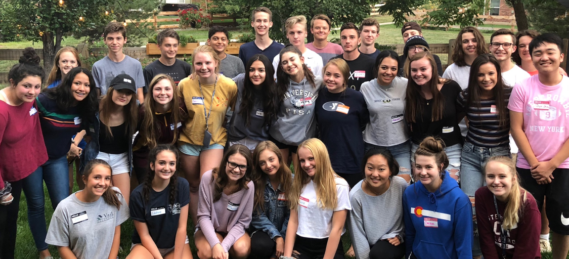 We've had SEVENTY-ONE teens join Happy Crew this year! Here is a picture from 8/2018