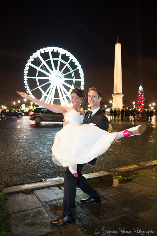 Our wedding day in Paris