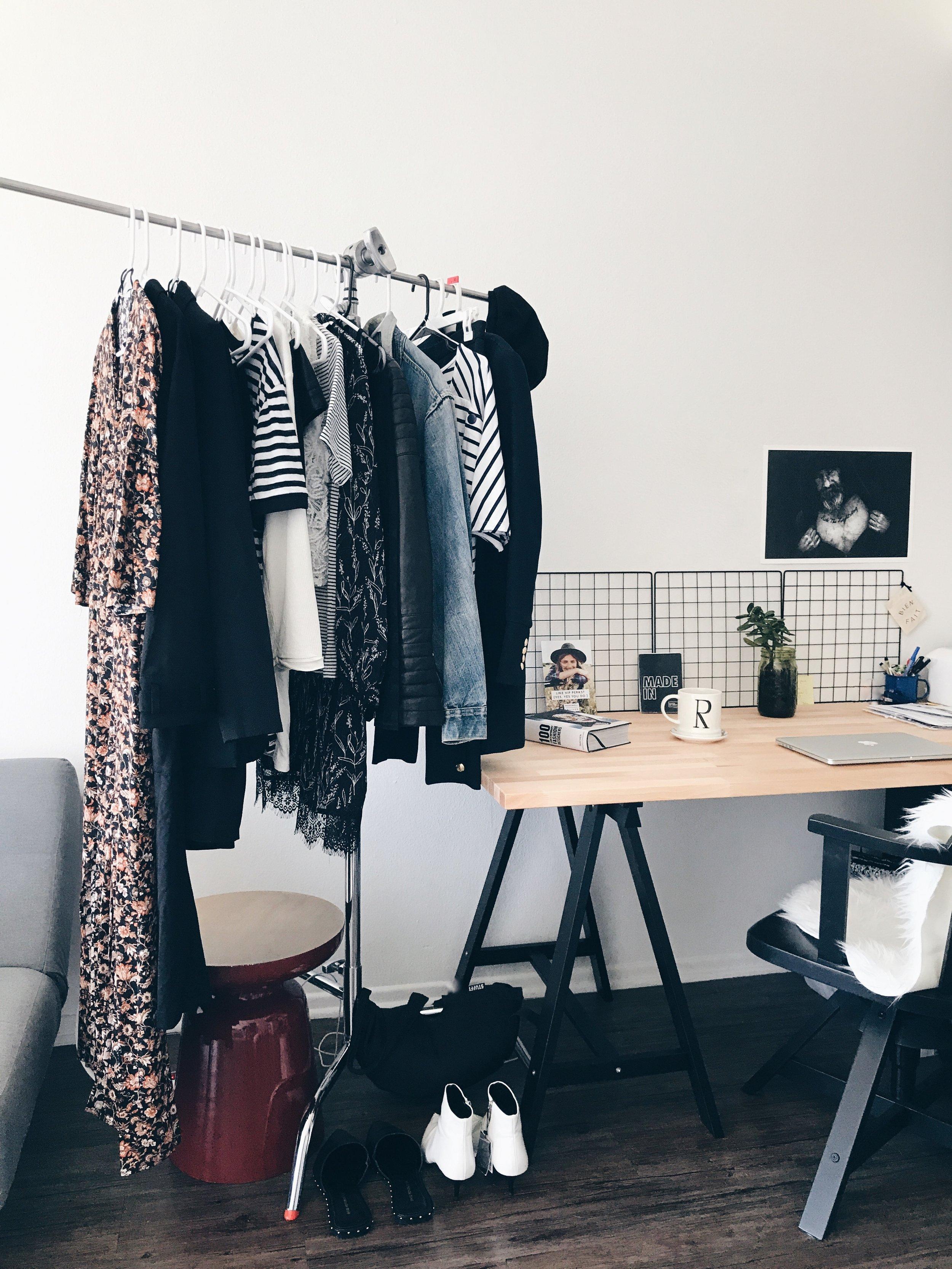 First wardrobe