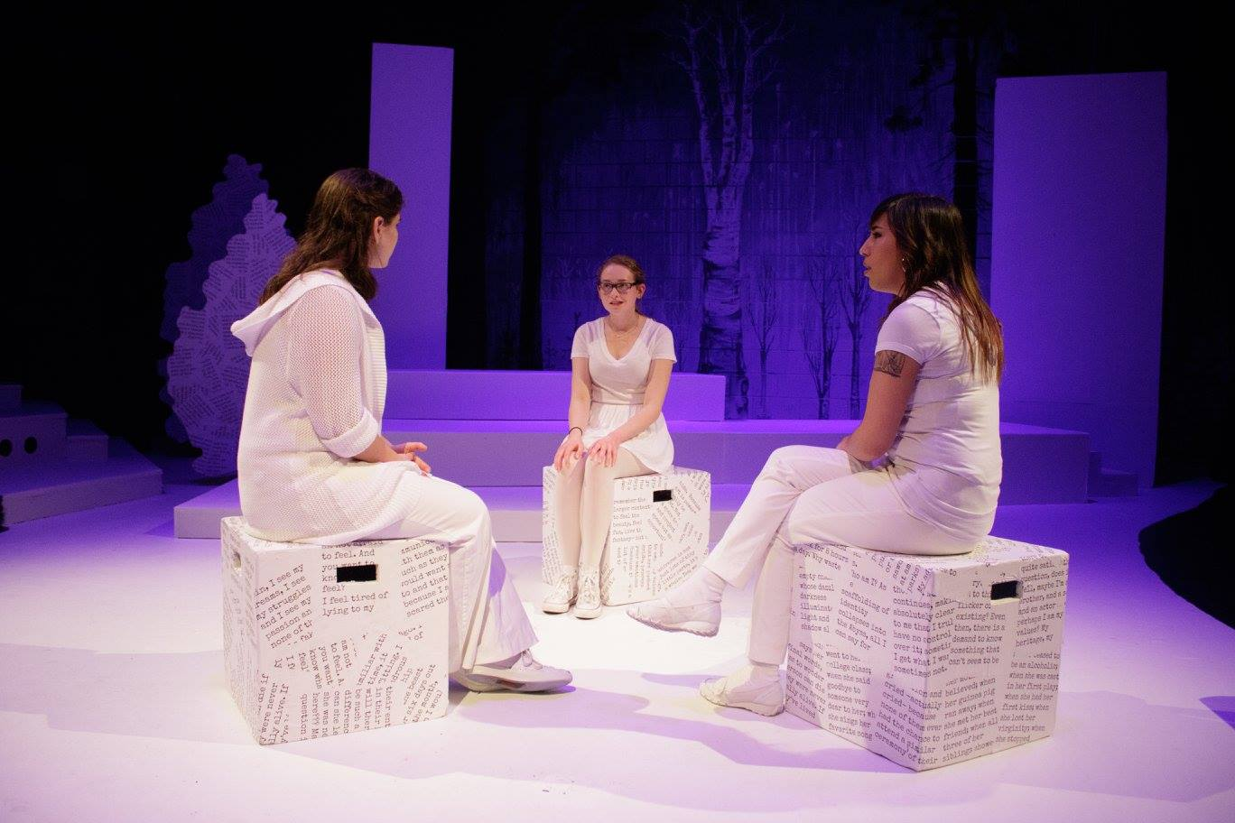 Original Work CONSTANT REVOLUTION at Lane Community College. Devised and directed by Willow Jade Norton.