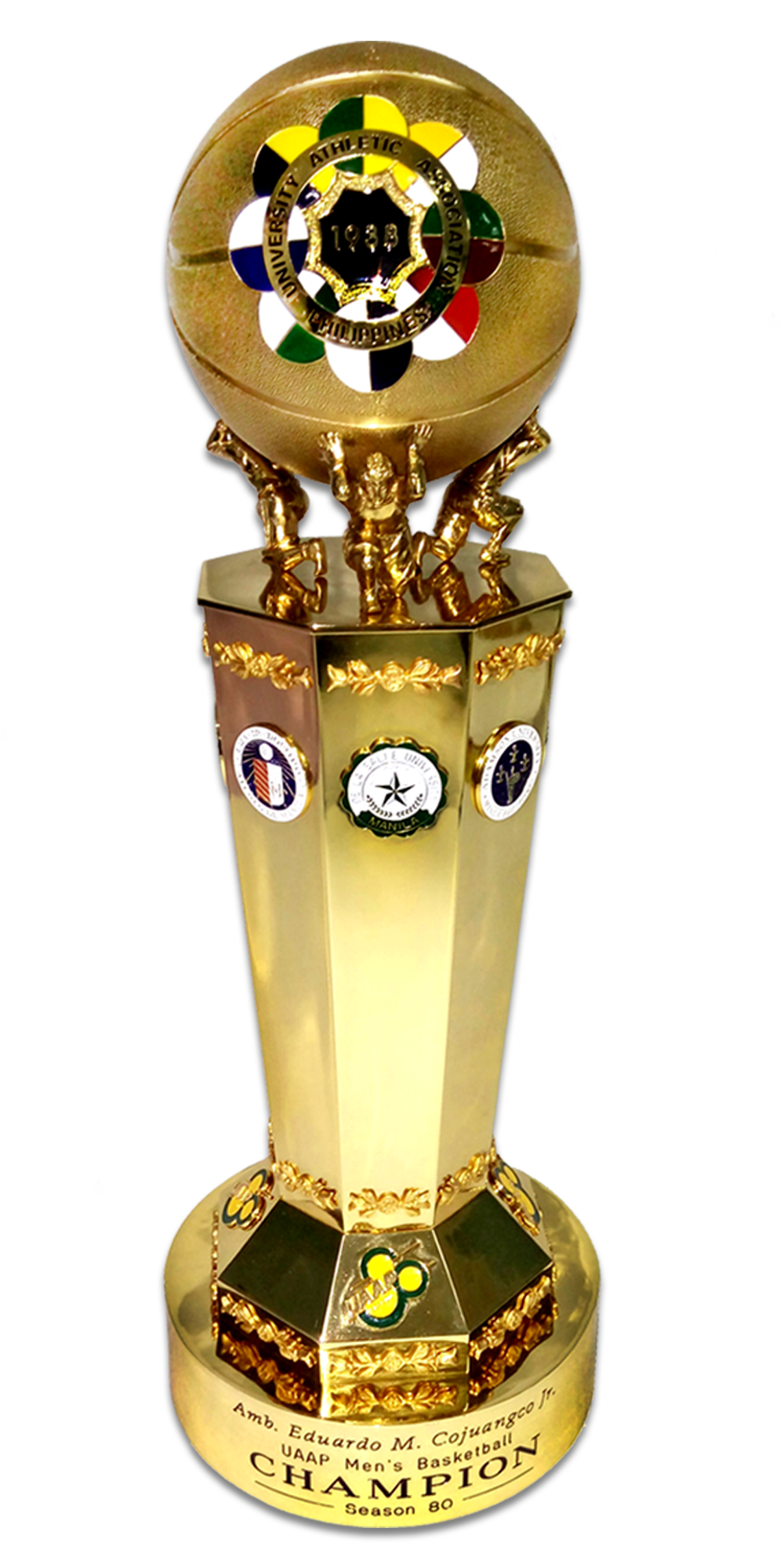 UAAP Season 80 Trophy