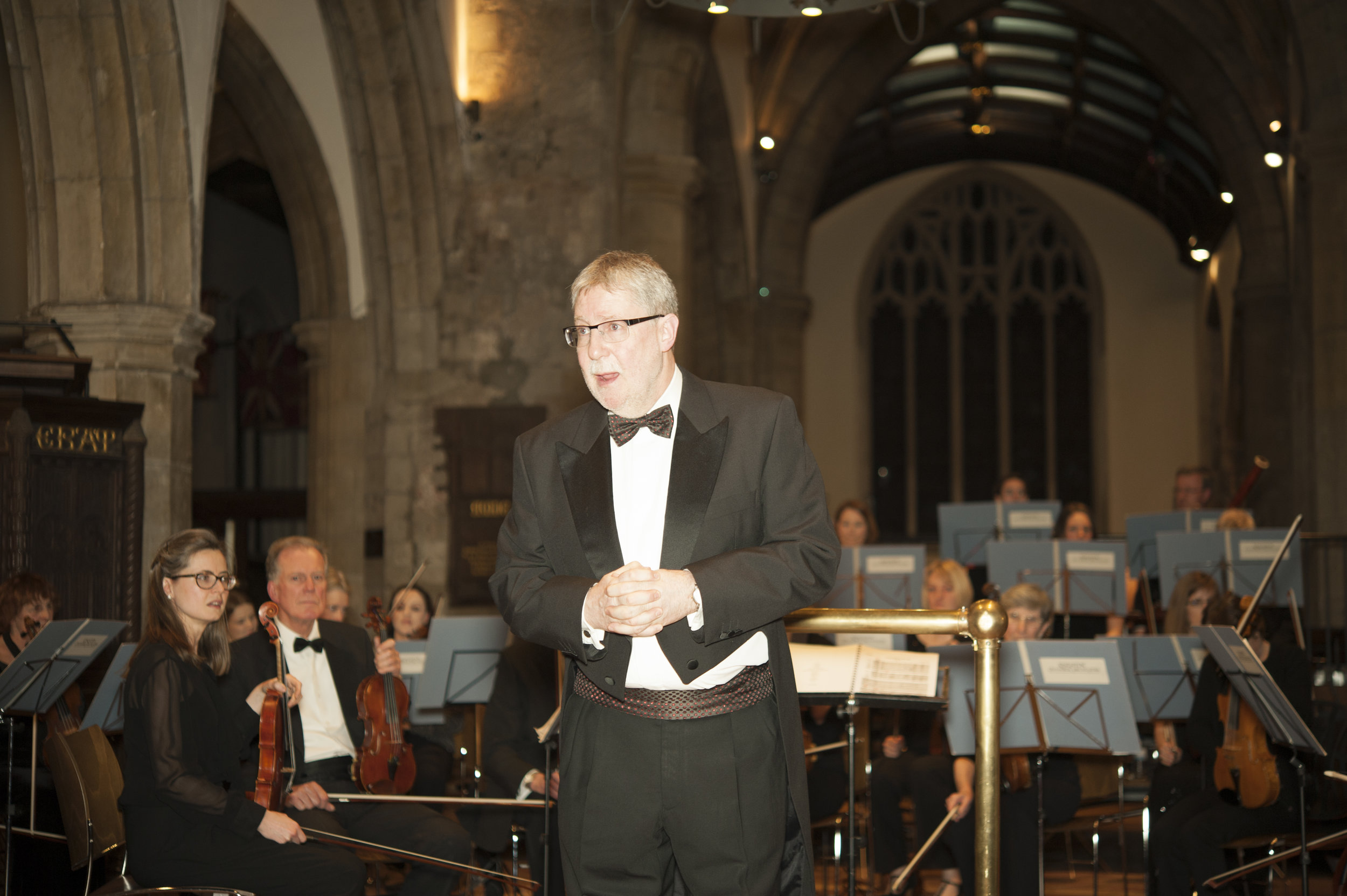 Our conductor, Andy Meyers