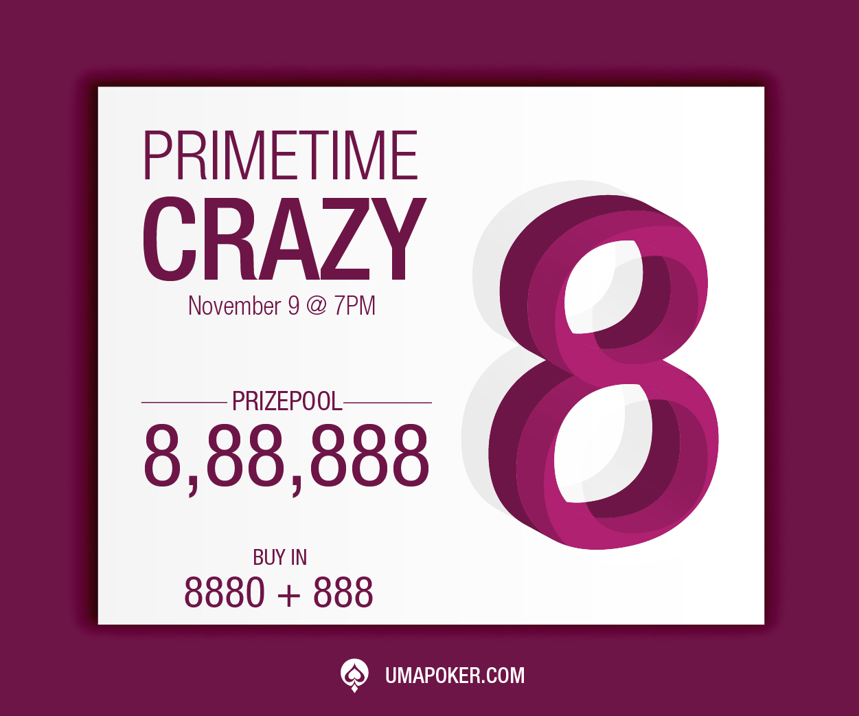 Is 8 your number? Come play Crazy 8