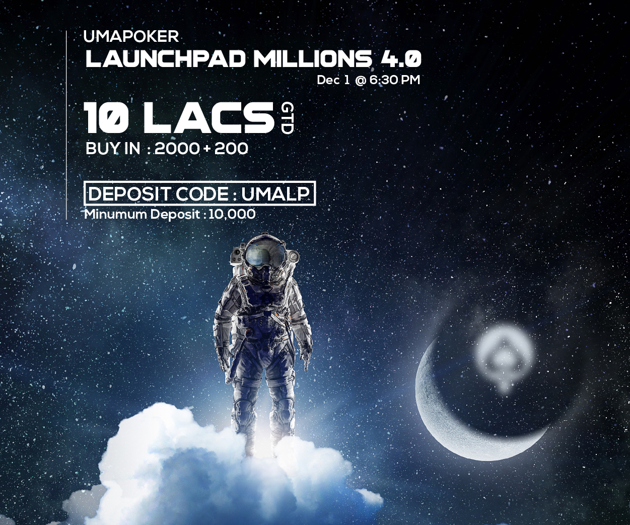 Uma Poker presents Launchpad 4.0; online poker tournament in India