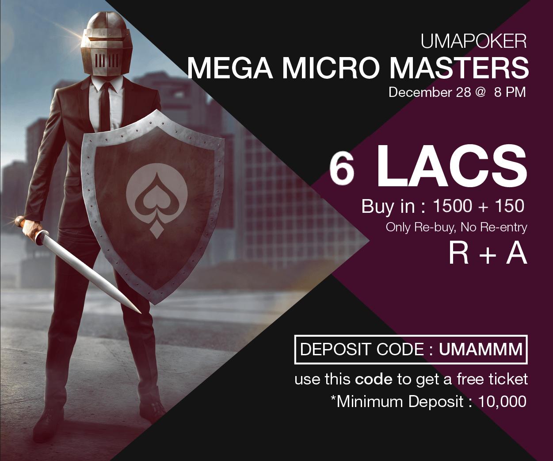 UMA Poker Mega Micro