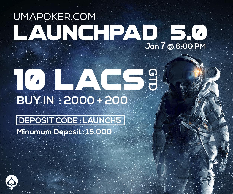 10 Lacs GTD. Deposit Code: Launch5