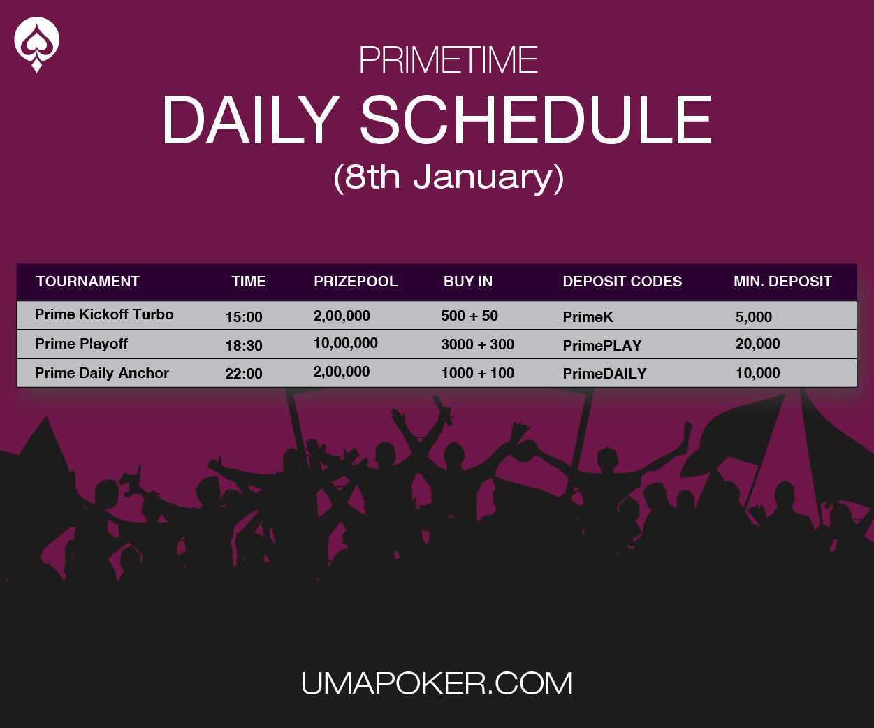 Jan8 Daily Schedule UMA Poker.png