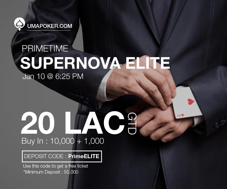 UMA Poker Supernova Elite