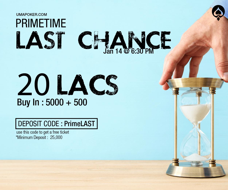 Prime Last Chance
