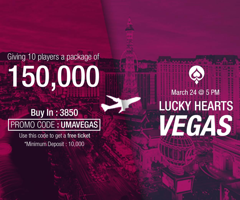 UMA Poker Vegas Package