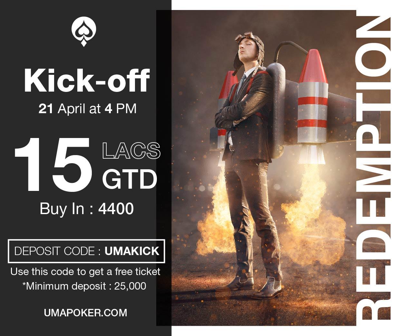 UMA Poker Redemption Kick Off