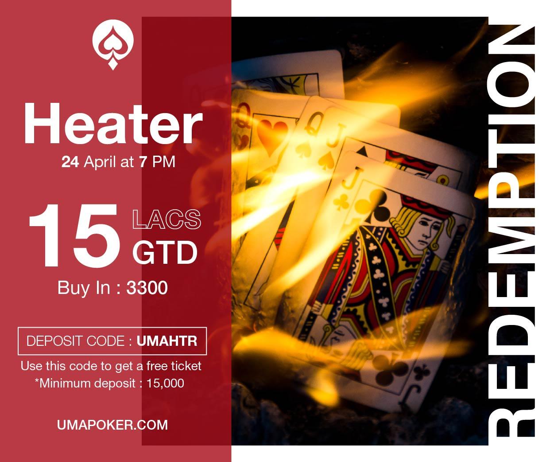 UMA Poker Redemption Heater