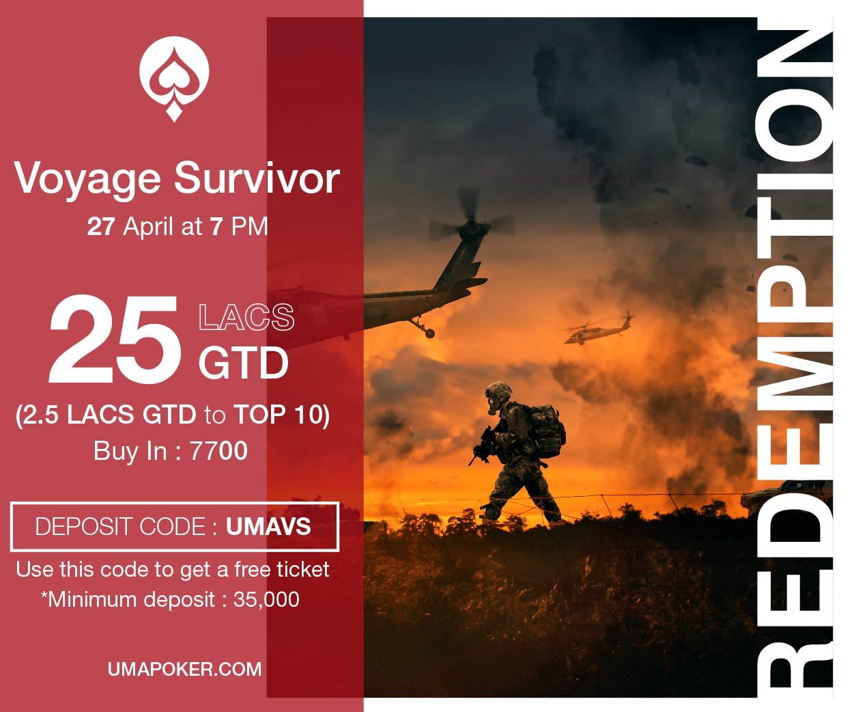 UMA Poker Redemption Voyage Survivor